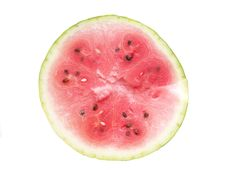 Free Half Of The Ripe Watermelon Stock Images - 16003494