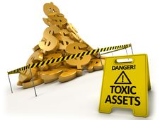Free Toxic Assets Concept Royalty Free Stock Photography - 16003807