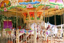Free Children S Carousel Stock Image - 16004141
