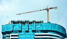 Free Construction Crane Royalty Free Stock Image - 16004496