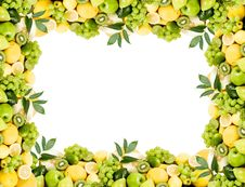 Free Fruit Frame Royalty Free Stock Images - 16005089