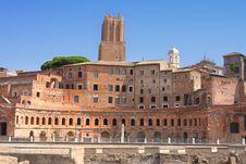 Free Trajan Market (Mercati Traianei) In Rome, Italy Royalty Free Stock Photography - 16005127