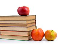 Free Apples And Books Stock Photo - 16005160
