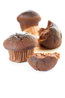 Free Tasty Chocolate Muffin Stock Photography - 16005782