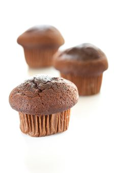 Tasty Chocolate Muffin Royalty Free Stock Image