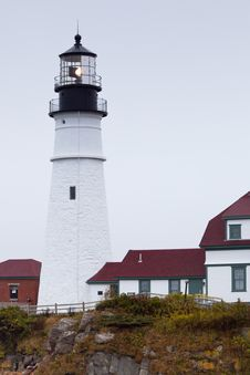 Free Portland Head Light - Tower Royalty Free Stock Photo - 16006145