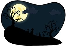 Free Night On Halloween Stock Images - 16006304