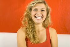Free Young Woman Laughing Stock Photos - 16006693