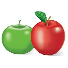 Free Red And Green Apples Stock Image - 16006731