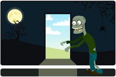 Free The Amusing Zombie Stock Photo - 16006780