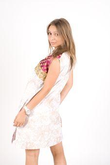 Free Fashion Model Posing Royalty Free Stock Image - 16006816
