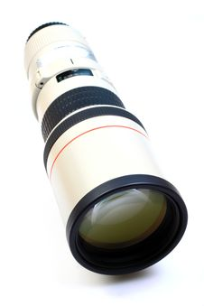 Free Professional Tele Lens Royalty Free Stock Photography - 16007477