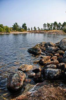 Lake Ladoga Stock Photo