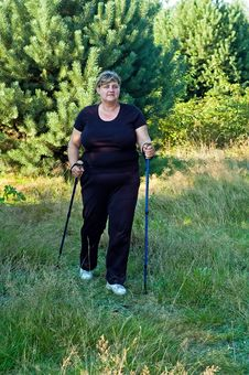 Free Nordic Walking Stock Images - 16008084