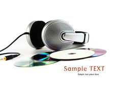 Free Headphones And CD Stock Photos - 16008373