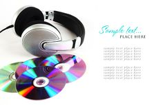 Free Headphones And CD Stock Photos - 16008403
