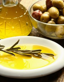 Olives Oil Stock Images
