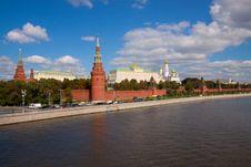 Kremlin Royalty Free Stock Photo