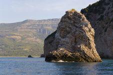 Free Rock At The Adriatic Sea Stock Photos - 16009173
