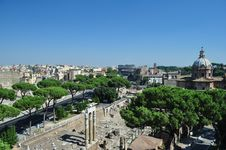 Free View Of The Coliseum Rome Stock Images - 16009194