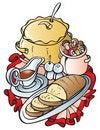 Free Mushroom's Dishes Royalty Free Stock Photo - 16012085