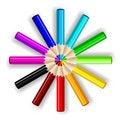 Free Pencils. Stock Image - 16012171