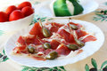 Free Prosciutto Ham With Capers Stock Photo - 16013060