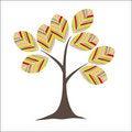 Free Retro Colorful Tree Stock Photography - 16015322