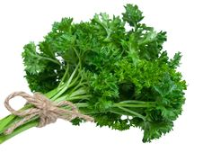 Free Fresh Parsley Bouquet Stock Photos - 16010733