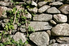 Free Rock Fence Background Royalty Free Stock Images - 16011179