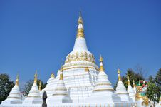 Free Stupa Wat Luang Royalty Free Stock Photo - 16011475