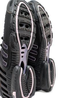 Soles Sport Shoe Stock Photography