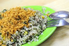Free Asian Olive Fried Rice Stock Images - 16012014