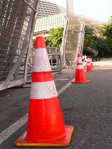 Free Safety Cones Stock Images - 16012234