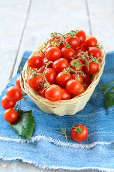 Free Tomatoes Cherry Royalty Free Stock Image - 16012586