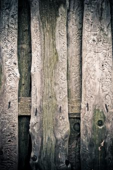 Free Old Wooden Fence Royalty Free Stock Photo - 16013325