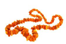 Free Amber Necklace Stock Photos - 16013453
