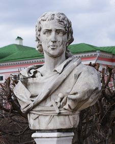 Free Marble Bust Of An Unknown Builder Royalty Free Stock Photo - 16013895