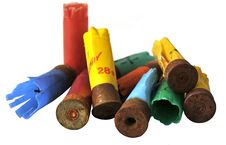 Free Rusty Cartridge Cases Stock Photography - 16014272