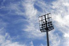 Free Soccer Spotlights Royalty Free Stock Image - 16014536