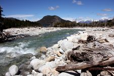 Free River And Mountains Stock Photography - 16016282