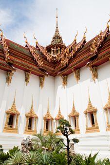 Dusit Grand Palace Stock Photography
