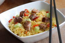 Free Pork With Rice Stock Image - 16017461