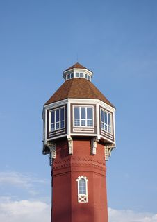 Free Fire Tower Against The  Blue Sky Stock Images - 16017944