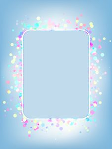 Free Vector Colorful Frame Stock Photo - 16018030