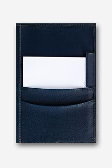 Free Leather Folder Royalty Free Stock Images - 16018159