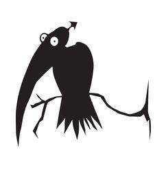 Free Black Bird Stock Photo - 16019240