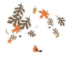 Free Leaf And Bird Stock Photos - 16019263