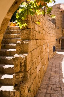 Detail Streets Of The Old City Royalty Free Stock Images