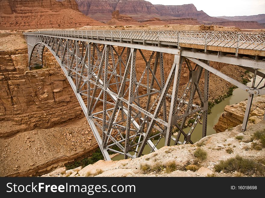 Bridge over Marble Canyon